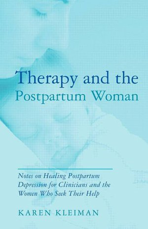Therapy and the postpartum woman Book Cover